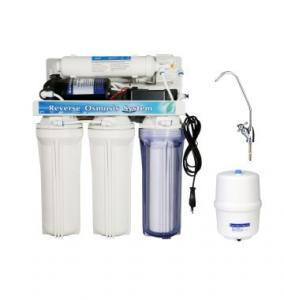 China Household Basic 5 Stage Reverse Osmosis Water Filtration System With Post Carbon Filter on sale