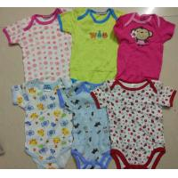 on sale kids mixed stock assorted short sleeve baby boxer boy girl cotton summer onesie Singapore cheap rompers