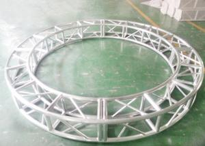 China Silvery Stage Lighting Circular Aluminum Truss ZC-125 Easy Installation on sale