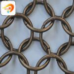 Decorative looped ring mesh High Trade assurance Has adopted ISO Certificate