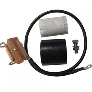 China Copper Coaxial Cable Grounding Kit , IBS Components Earth Clamp For 15 / 8 ″ on sale