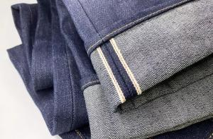 China Luxury 16.5oz  Selvedge Denim Vintage Indigo Jeans Men With Paper Pattern P66280 on sale
