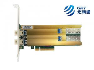 China Dual Port Fiber 25 Gigabit Ethernet PCI Express Bypass Server Adapter Intel XXV710 Based on sale