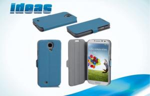 China Waterproof Samsung Galaxy S4 Leather Case Stand Cover with Sleep Function on sale