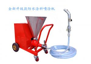 China Red Gypsum Plastering Machine / High Efficiency Mortar Spray Equipment on sale