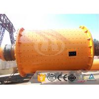 Slag Material Iron Ore Grinding Ball Mill Ф2400×4500 ISO Certification
