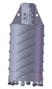 China Bauer Core Barrel Bucket with roller bits on sale