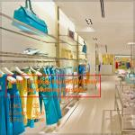 New clothes store clothing showroom interior design