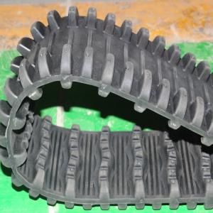 China Good Price and High Quality Rubber Tracks for Robot (100*20*76) on sale