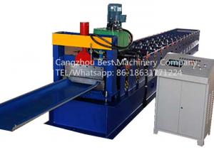 China Strip Roofing Sheet 620mm Self Lock Profile Roll Forming Machine With Seaming Machine on sale
