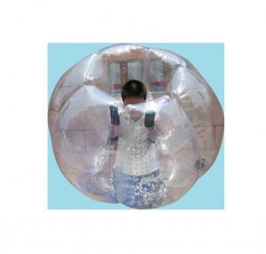 China Inflatable Human Sized Hamster Ball , PVC / TPU Bubble Body Zorb Ball on sale