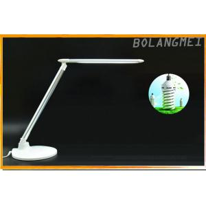China ABS + Alloy Rotatable And Folding LED Table Lamp In Blue , Golden , Silver on sale