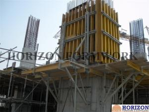 China High Efficient Jump Form Formwork System Crane Lifted Steel Raw Material on sale