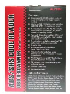 The Best Autel Maxilink Ml619 Car Obd2 Scanner Abs Airbag Srs Scanner Auto Diagnostic Scan Tool Obd 2 Code Reader Tools Pk Autolink Al619 Diagnostic Tools