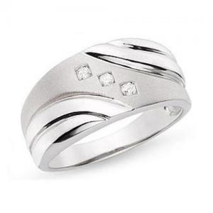 China Diamond Ring(14K White Gold Diamond ring) on sale