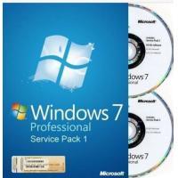 China Genuine Windows 7 Professional Full Version With Retail Box , Microsoft Windows Retail on sale