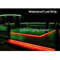 3528SMD RGB LED Strip Lights For Stair Lighting , 24V Double PCB Christmas Strip