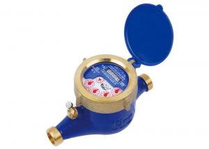 Quality Household Multi Jet Water Meter, Liquid Sealed Cold LXSY-15E Class C for sale