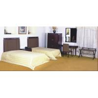 Budget hotel interior fitout furniture Single Bed Headboard with Writing desk tableBO-B002