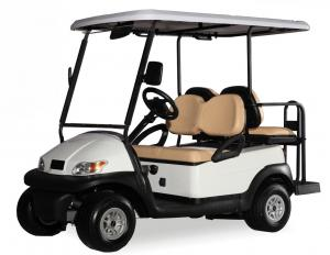 China Customized Electric Car Golf Cart 4 Seater Range up to 50 Miles Per Charge on sale