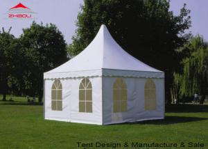 4x4m Anodized Aluminum Garden Pagoda Marquee For Parties Wedding