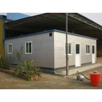 Anti-Rust Light Steel Structure House , Modern Prefab Villa With Patio
