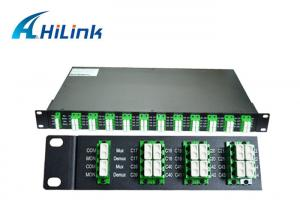 Quality Optics 40 Channel DWDM Mux Demux AAWG Modules 100Ghz C21-C60 For Data Center for sale