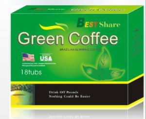 China Multifunction Effective eliminate toxin, beautify and tender skin, slimming Green Coffee on sale