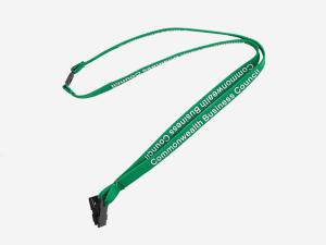 China Quick Release China Factory Tubular Lanyard with Break Buckle, Small MOQ Wholesale on sale