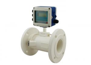 China Doppler In Line Pipe Type Ultrasonic Flow Meters For Waste Water Treatment on sale