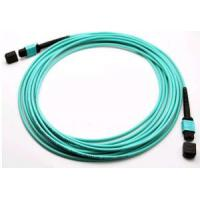 China Industrial Fiber Optic Patch Cord Optical Fiber Network Cable With OFNP / OFNR Jacket on sale