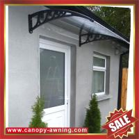 China excellent porch window door polycarbonate pc diy awning canopy canopies shelter for cottage house building garden home on sale