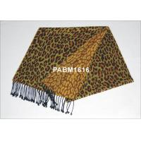 2013 Fashion Leopard Ladies Long Woven Silk Scarf For Winter