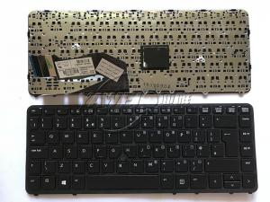 China UK Layout Replacement Laptop Keyboard for HP 840 G1 Notebook Clavier with Frame Black Color Hot Selling on sale
