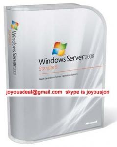 China Genuine microsoft windows server 2008 R2 Standard FPP Software Product Key on sale