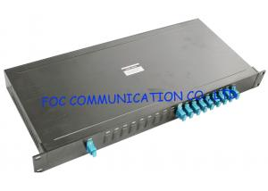China Fiber Networks 19 Rack Mount CWDM Module 8 + 1 Type With SC Connectors on sale