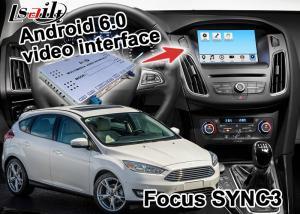 China  Focus SYNC 3 Car Navigation Box , Simple Gps Navigation For Car on sale