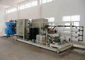 China Easy Operation Seawater Desalination Machine Low Energy Consumption on sale