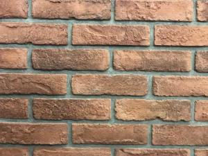 China 3D01 NEW Antique Thin Veneer Outdoor Brick Tiles 205 X 50 X 12mm For Exterior Wall on sale