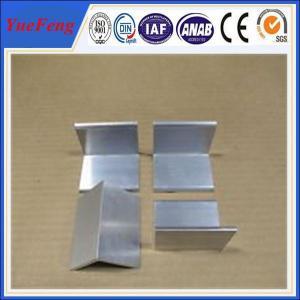 China Aluminium price per kg aluminum angle profile in china on sale