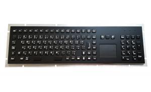 China Industrial meta keyboard with black titanium for marine navy keyboard use with 10 key keypad on sale