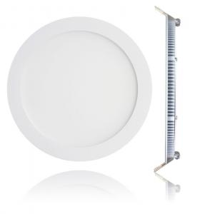 China Warm white / red / bule recessed silm 8inch round led panel light 8W / 10w / 12W IP65 on sale