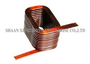 China High Reliability RFID Coil Antenna , Flat Copper Wire Coil Stable Performance on sale