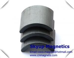 China Arc/Segment  Ferrite magnets and Ceramic Magnets used in motors, generators,Pumps on sale