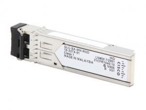 China Cisco SFP mini-GBIC Transceiver Module Model GLC-SX-MMD=SFP,1.25Gb/s,GE,1000Base-SX,MMF,850nm,550M on sale