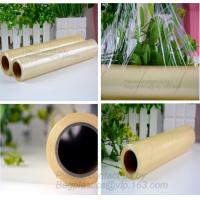 wrapping PVC transparent cling film, food grade cast cling film, wrapping, moisture proof fresh-keeping, food wrapper, P