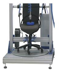 China Chair Swivel Durability Furniture Testing Machines For Rotary Function on sale