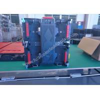 Indoor RGB high brightness led screen rental / high definition video display 500 * 500 cabinet