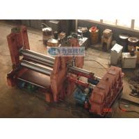 China Three Roller Level Down Type Plate Roll Bending Machine With Pre Bending on sale
