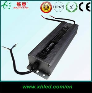 China La commutation DC12V 200W imperméabilisent le CE ROHS de Shell IP67 de fer d'alimentation d'énergie de LED on sale